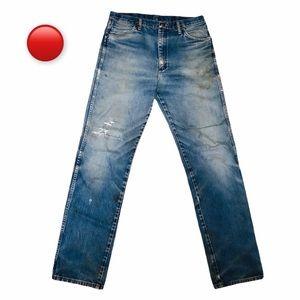 VTG Distressed Wrangler Jeans